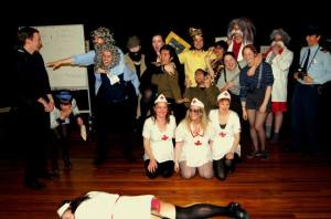 German Play Performance at Otago Univeristy